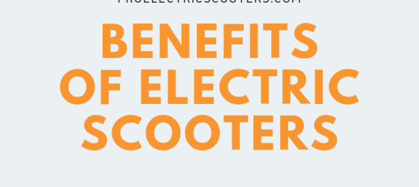 8 Advantages of Electric Scooters